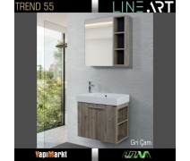 Lineart Trend 65 Cm. Banyo Dolabı